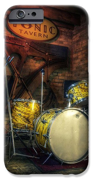 Drum iPhone 6s Case - The Tonic Tavern by Scott Norris