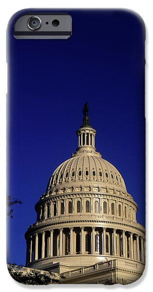 Capitol Building iPhone 6s Case - The West Side Of The United States by Dennis Brack