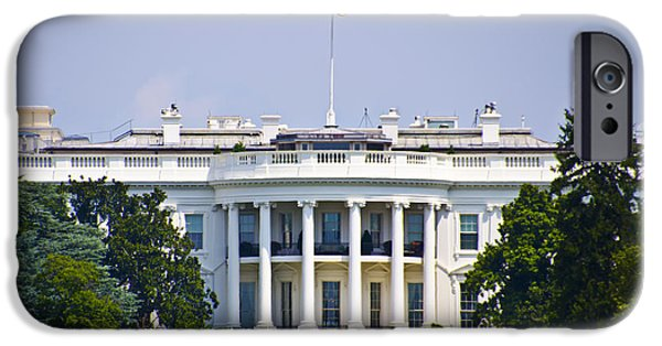 Whitehouse iPhone 6s Case - The Whitehouse - Washington Dc by Bill Cannon