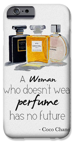 Perfume iPhone 6s Case - Think About Your Future 2 by My Inspiration