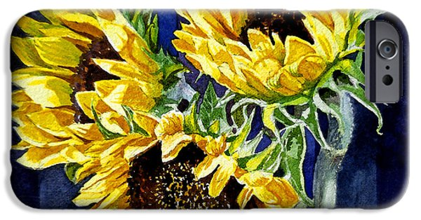 Three Sunny Flowers IPhone 6s Case