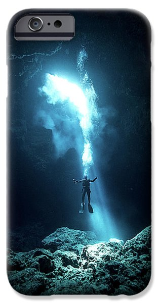 Swimming iPhone 6s Case - To The Heaven by Charlie Jung