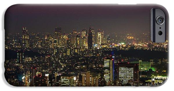Tokyo City Skyline IPhone 6s Case by Fototrav Print