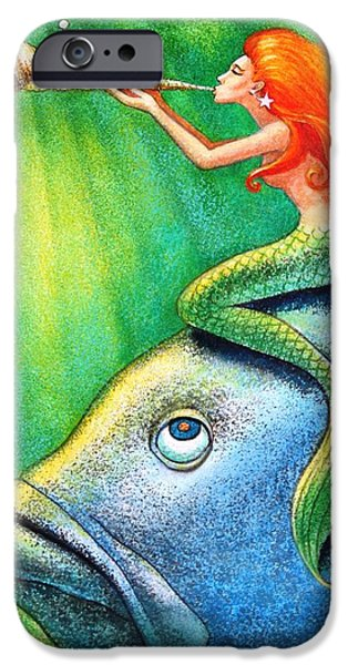 Toot Your Own Seashell Mermaid IPhone 6s Case