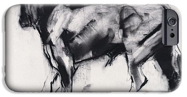 Toro Azul   Study IPhone 6s Case by Mark Adlington