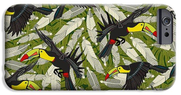 Toucan Jungle IPhone 6s Case