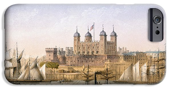 Tower Of London, 1862 IPhone 6s Case by Achille-Louis Martinet