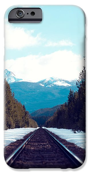 Train To Mountains IPhone 6s Case by Kim Fearheiley