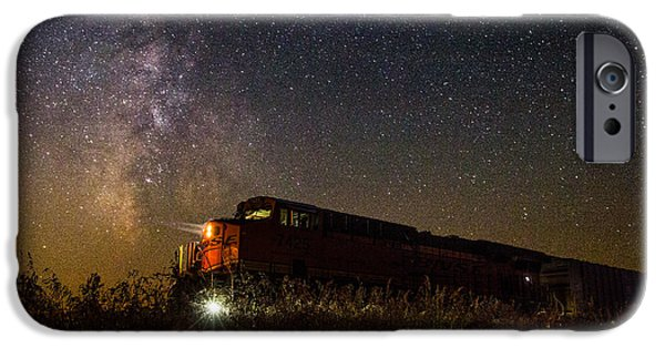 Train iPhone 6s Case - Train To The Cosmos by Aaron J Groen