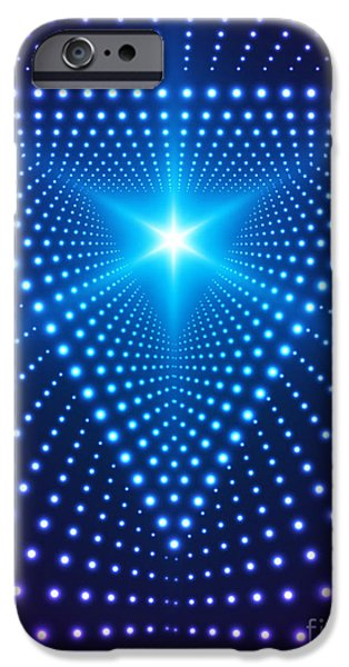 Space iPhone 6s Case - Triangle Border With Light Effects by Skillup