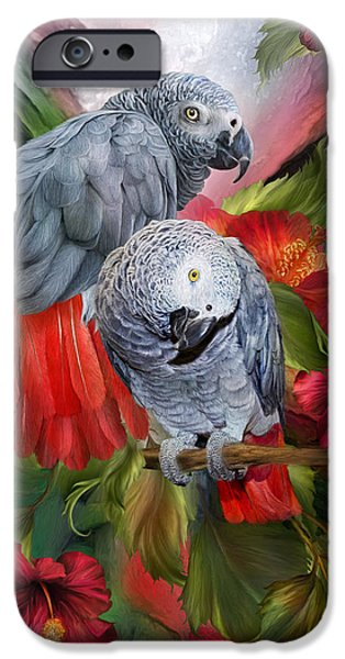 Tropic Spirits - African Greys IPhone 6s Case