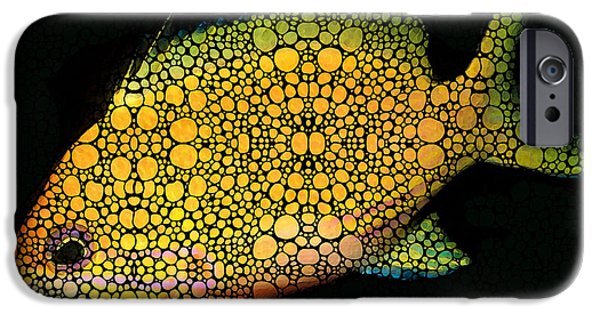 Scuba Diving iPhone 6s Case - Tropical Fish Art 14 By Sharon Cummings by Sharon Cummings