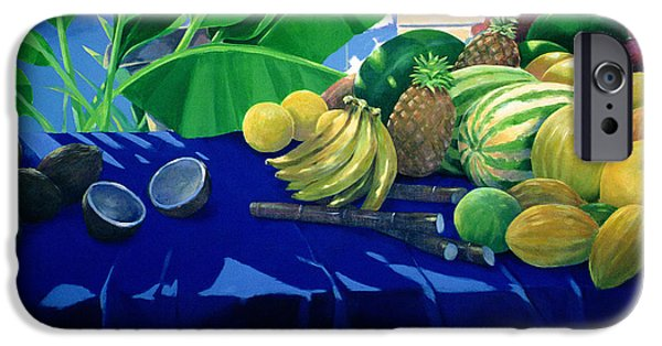 Tropical Fruit IPhone 6s Case by Lincoln Seligman