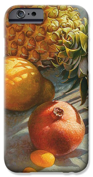 Food And Beverage iPhone 6s Case - Tropical Fruit by Mia Tavonatti