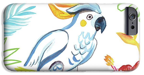 Cockatoo iPhone 6s Case - Tropicana I by Farida Zaman