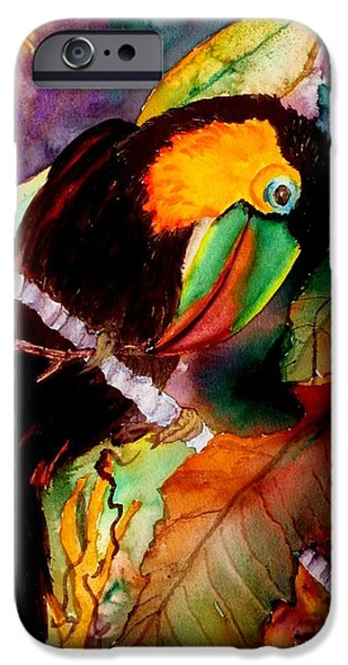 Toucan iPhone 6s Case - Tu Can Toucan by Lil Taylor