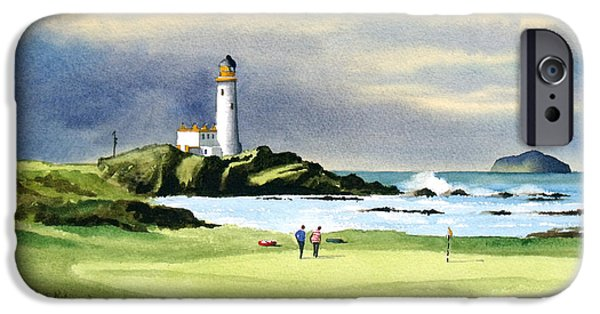 Turnberry Golf Course Scotland 10th Green IPhone 6s Case