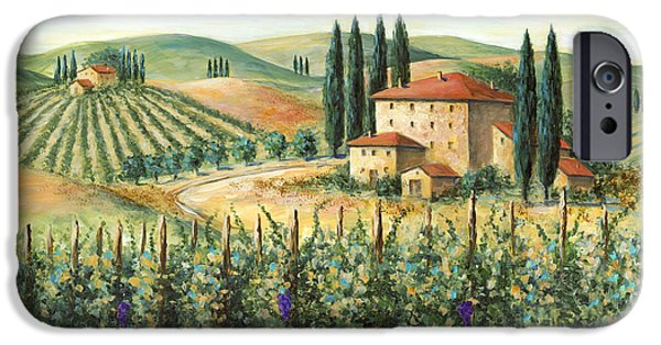 Tuscan Vineyard And Villa IPhone 6s Case
