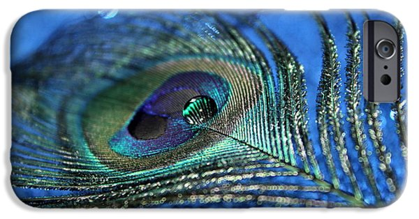 Peacock iPhone 6s Case - Twilight Escape by Krissy Katsimbras