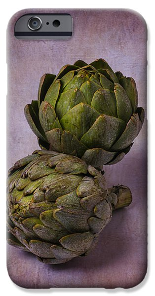 Two Artichokes IPhone 6s Case by Garry Gay