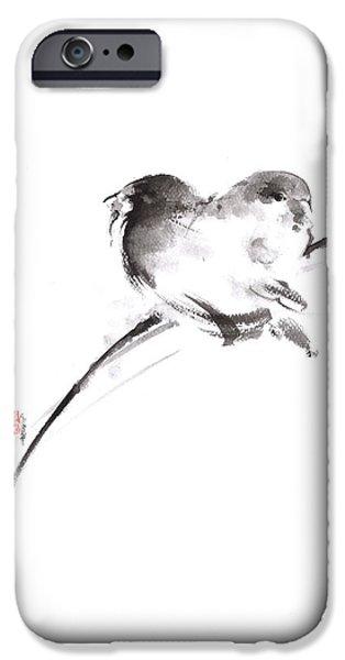 Two Birds Minimalism Artwork. IPhone 6s Case by Mariusz Szmerdt