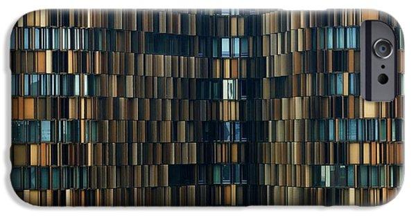 Office Buildings iPhone 6s Case - U15 by Roberto Merlino