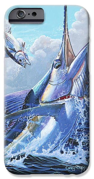 Sharks iPhone 6s Case - Unexpected Off0093 by Carey Chen