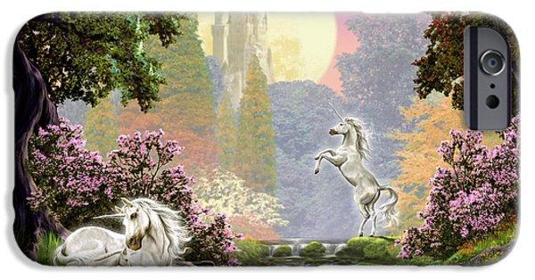 Unicorn New Born IPhone 6s Case by Garry Walton