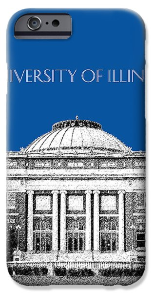 University Of Illinois Foellinger Auditorium - Royal Blue IPhone 6s Case