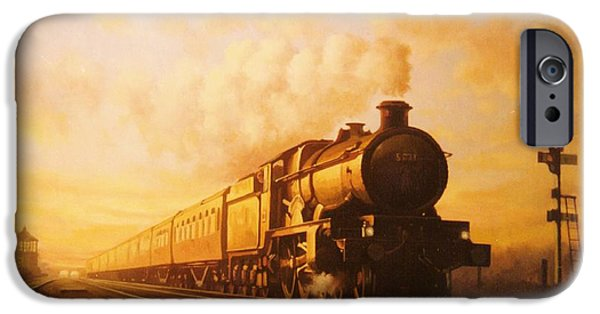 Train iPhone 6s Case - Up Express To Paddington by Mike Jeffries