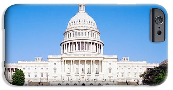 Capitol Building iPhone 6s Case - Us Capitol, Washington Dc, District Of by Panoramic Images