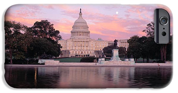 Capitol Building iPhone 6s Case - Us Capitol Washington Dc by Panoramic Images