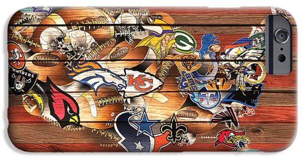 Usa Nfl Map Collage 10 IPhone 6s Case