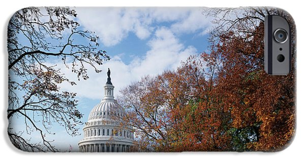 Capitol Building iPhone 6s Case - Usa, Washington Dc, View Of Capitol by Scott T. Smith
