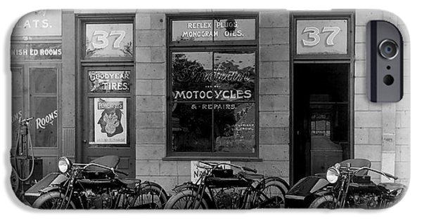 Vintage Motorcycle Dealership IPhone 6s Case