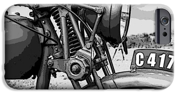 Vintage Motorcycle IPhone 6s Case by Marvin Blaine