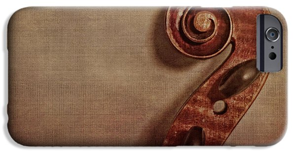 Violin iPhone 6s Case - Violin Scroll by Emily Kay