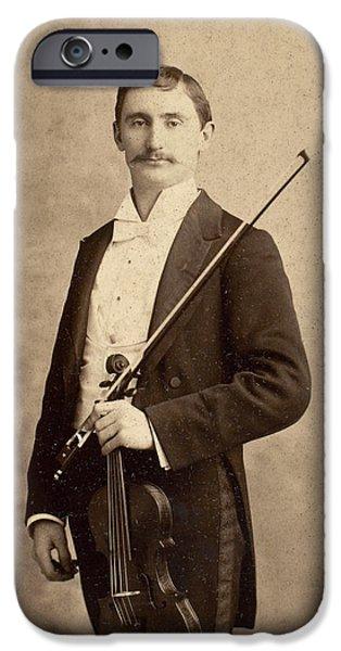 Violin iPhone 6s Case - Violinist, C1900 by Granger