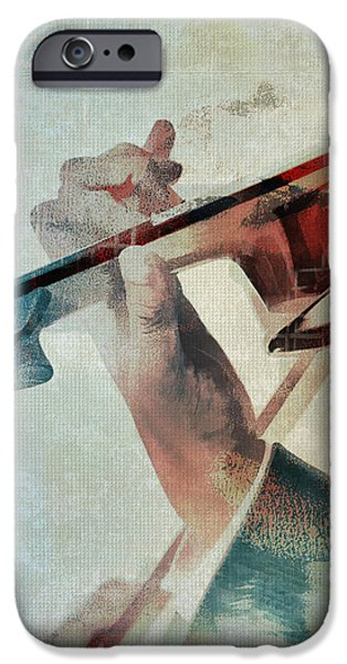 Violin iPhone 6s Case - Violinist by David Ridley
