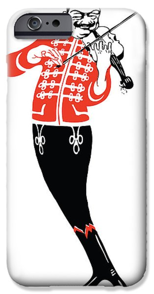 Violinist IPhone 6s Case by Gary Grayson