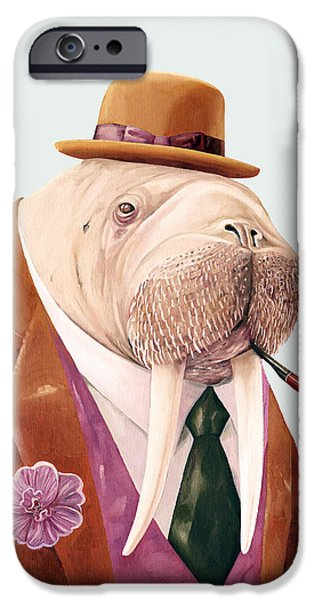 Walrus IPhone 6s Case by Animal Crew