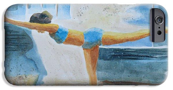 Yoga iPhone 6s Case - Warrier IIi Namaste Yoga by Robert P Hedden