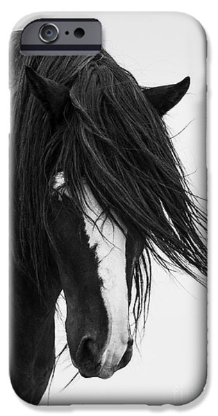 Horse iPhone 6s Case - Washakie's Portrait by Carol Walker