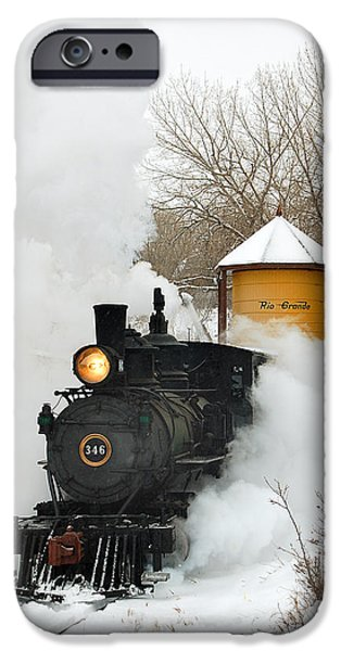 Water Tower Behind The Steam IPhone 6s Case by Ken Smith