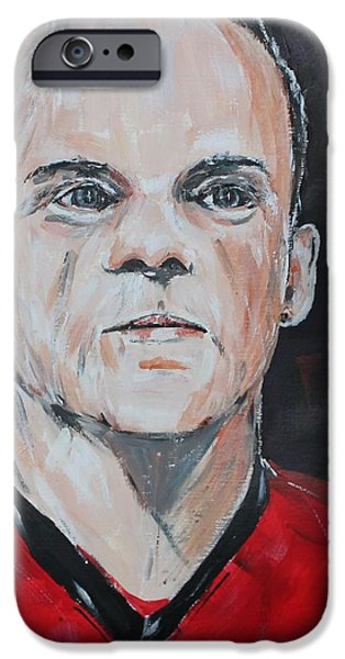 Wayne Rooney IPhone 6s Case by John Halliday