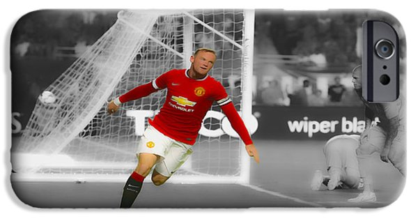 Wayne Rooney Scores Again IPhone 6s Case by Brian Reaves