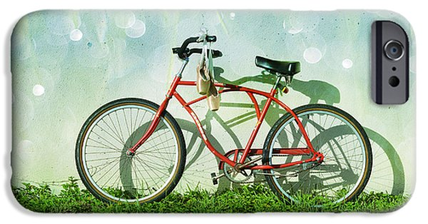 Bicycle iPhone 6s Case - Weekender Special by Laura Fasulo