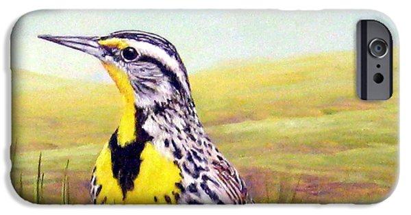 Western Meadowlark IPhone 6s Case by Tom Chapman