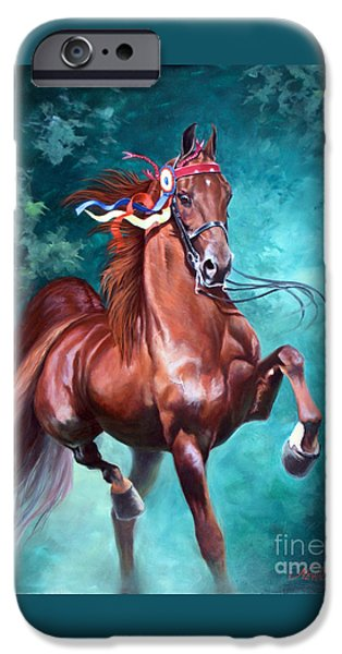 Horse iPhone 6s Case - Wgc Courageous Lord by Jeanne Newton Schoborg