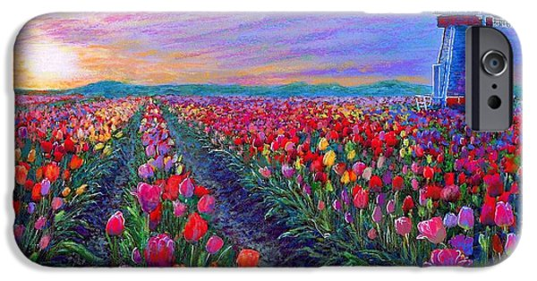 Tulip Fields, What Dreams May Come IPhone 6s Case